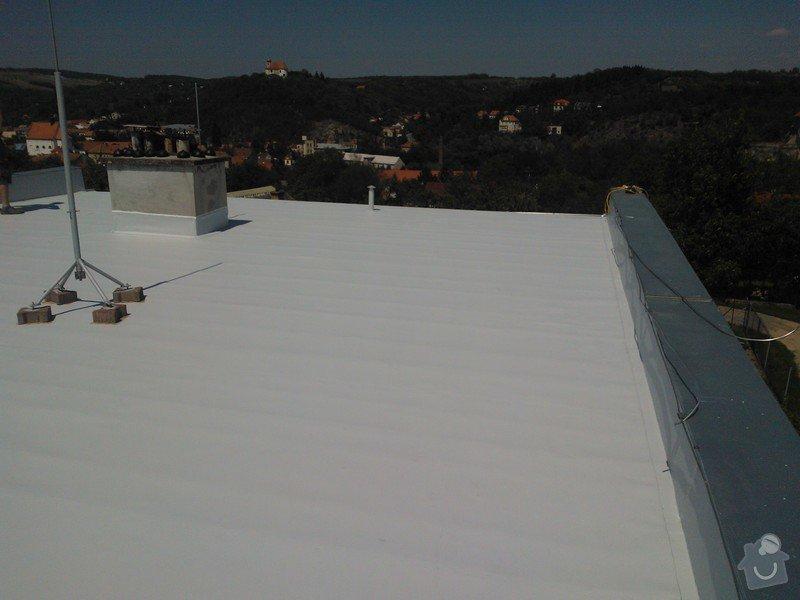 Izolace střechy folii PVC Sikaplan 15G RD Fatrdlová: WP_000210