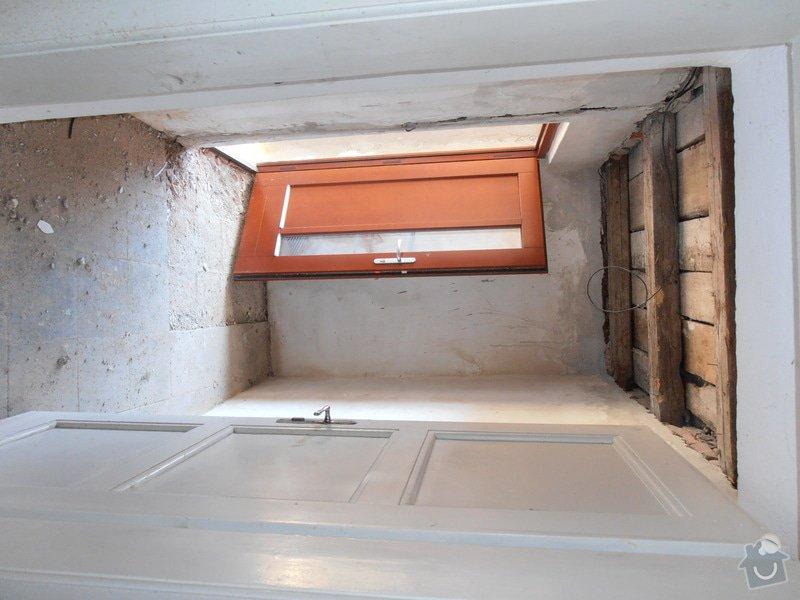 Obložení koupelny (kachle+dlažba), dlažba do předsíně: P3250363
