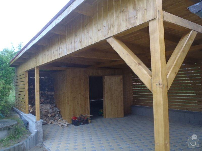 Úprava pozemku stavba pergoly: P6180957