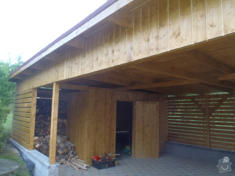 Úprava pozemku stavba pergoly: P6180959