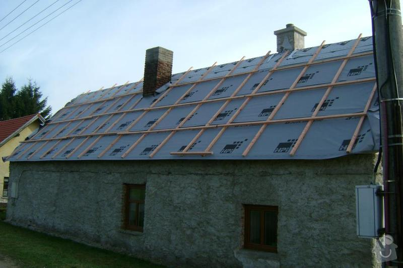 Rekonstrukce střechy: Hradilek_-_foto2