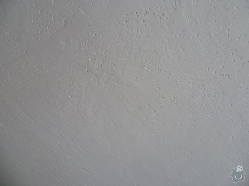 Příprava stropu pro malířské práce (2 pokoje): P1000622