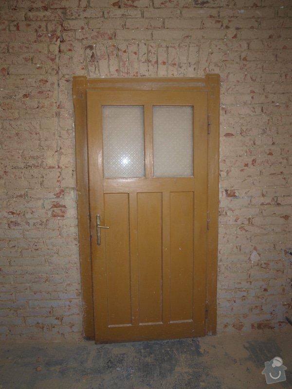 Renovace dveří a zárubní 4 ks: P6168131