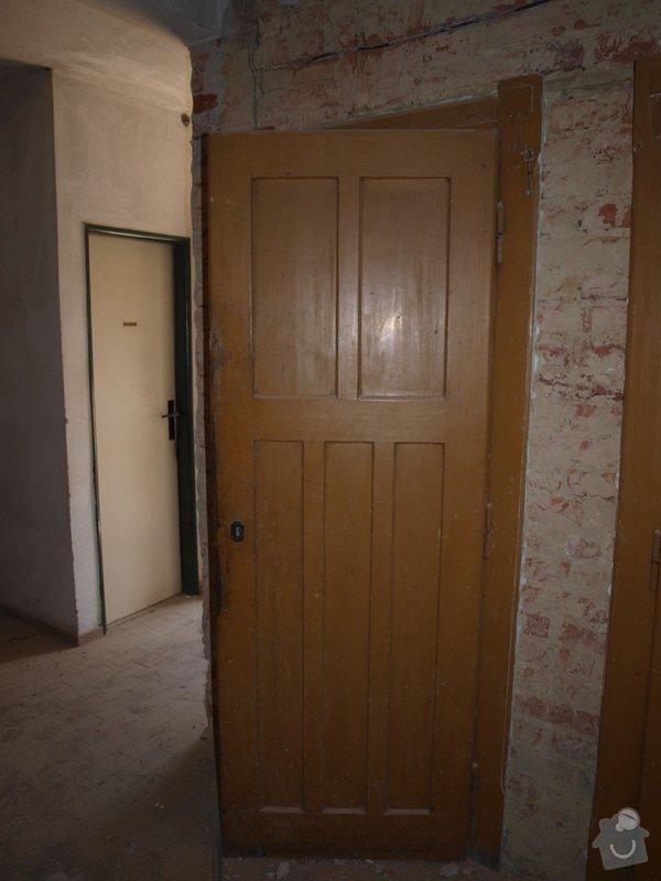 Renovace dveří a zárubní 4 ks: P6168120
