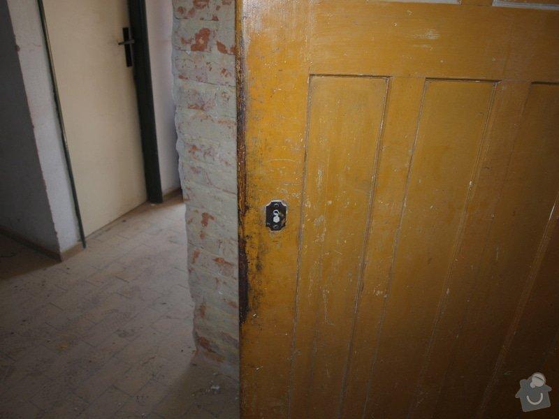 Renovace dveří a zárubní 4 ks: P6168121