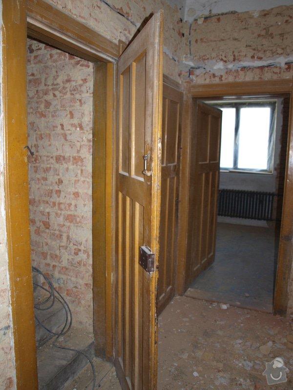 Renovace dveří a zárubní 4 ks: P6168122