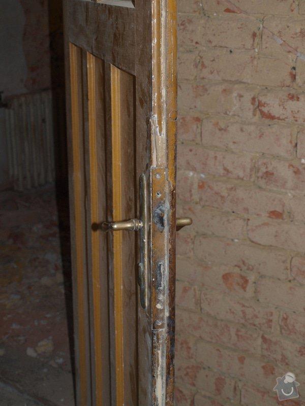 Renovace dveří a zárubní 4 ks: P6168127