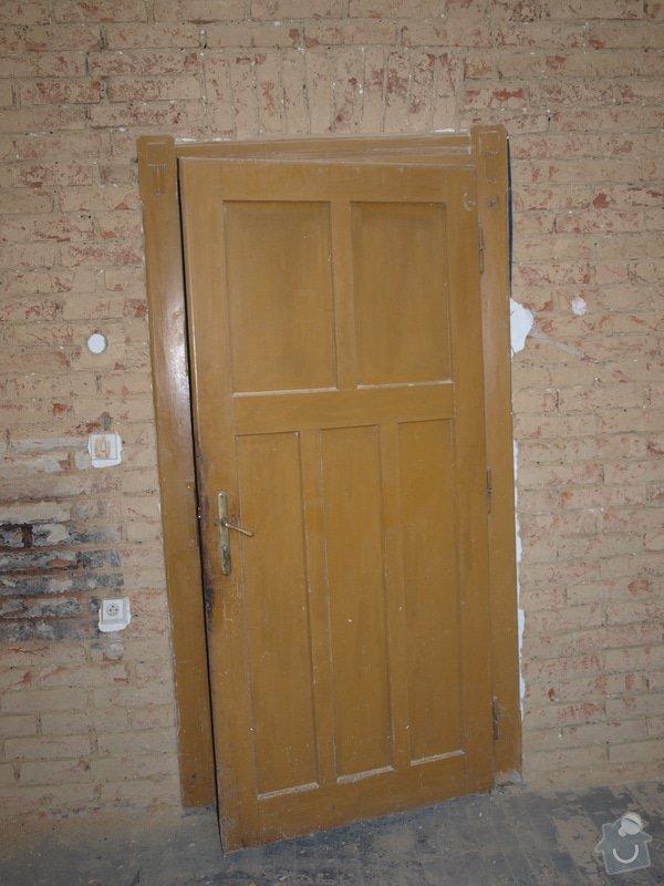 Renovace dveří a zárubní 4 ks: P6168128