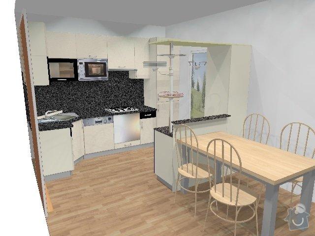 Kuchyňská linka: kuchyne