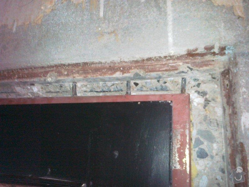 Zapravení špalety kolem 1 zárubně - seříznutý panel: 4