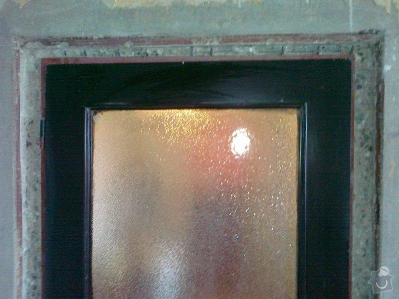 Zapravení špalety kolem 1 zárubně - seříznutý panel: 3