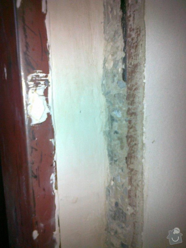 Zapravení špalety kolem 1 zárubně - seříznutý panel: 5