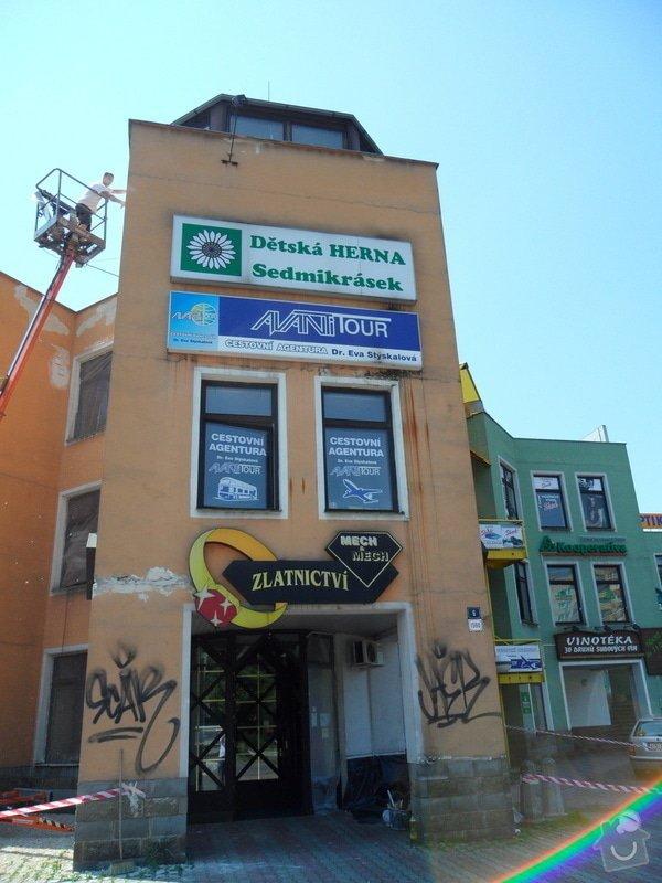 Rekonstrukce fasády OC Špalíček - Hrabůvka: SAM_2766