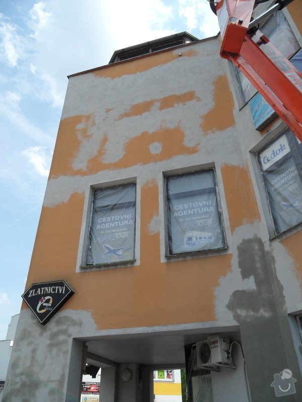 Rekonstrukce fasády OC Špalíček - Hrabůvka: SAM_2795