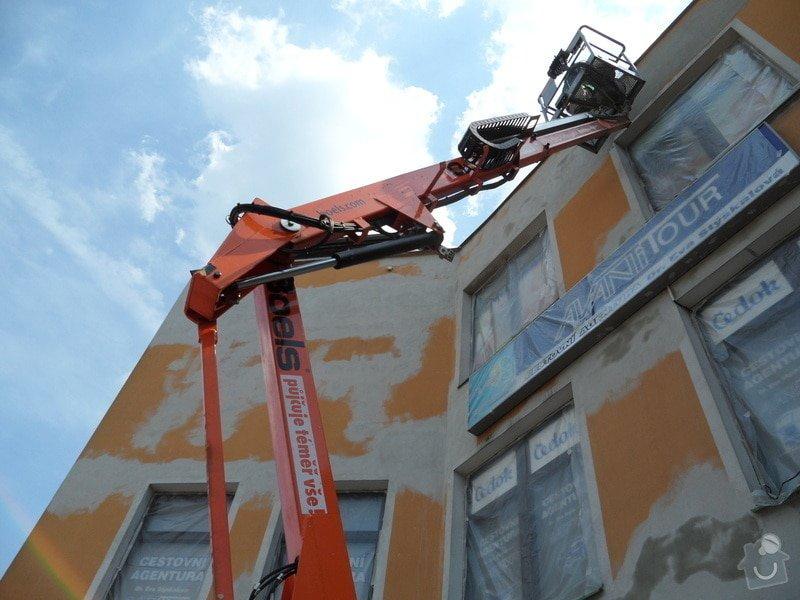 Rekonstrukce fasády OC Špalíček - Hrabůvka: SAM_2796