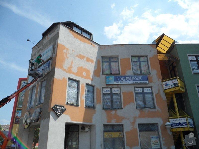 Rekonstrukce fasády OC Špalíček - Hrabůvka: SAM_2800