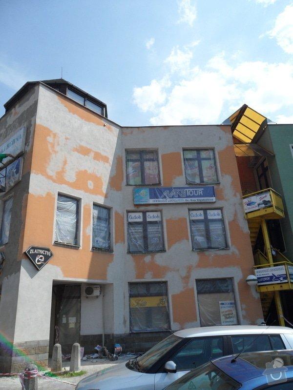 Rekonstrukce fasády OC Špalíček - Hrabůvka: SAM_2801