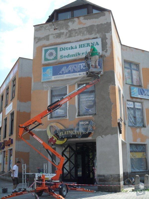 Rekonstrukce fasády OC Špalíček - Hrabůvka: SAM_2802