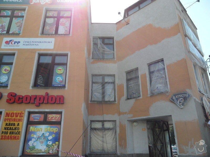 Rekonstrukce fasády OC Špalíček - Hrabůvka: SAM_2803