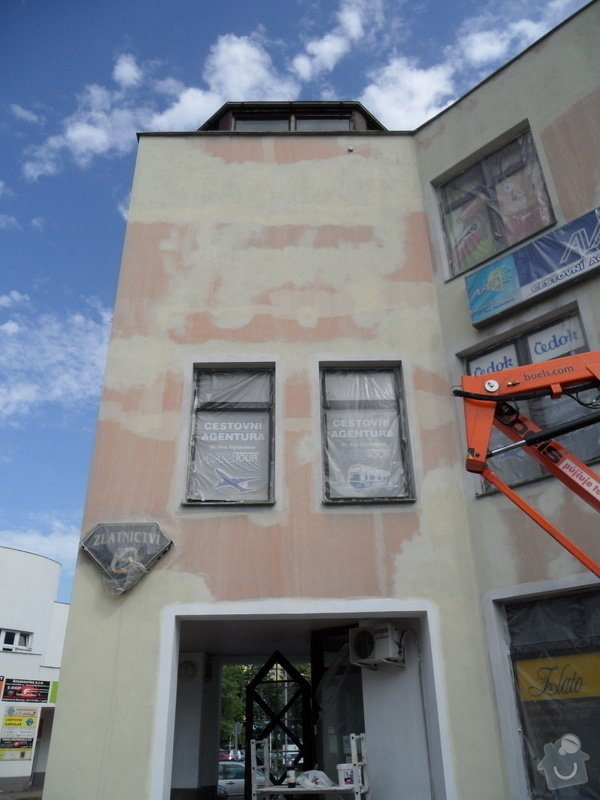 Rekonstrukce fasády OC Špalíček - Hrabůvka: SAM_2807