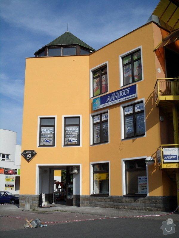 Rekonstrukce fasády OC Špalíček - Hrabůvka: SAM_2821