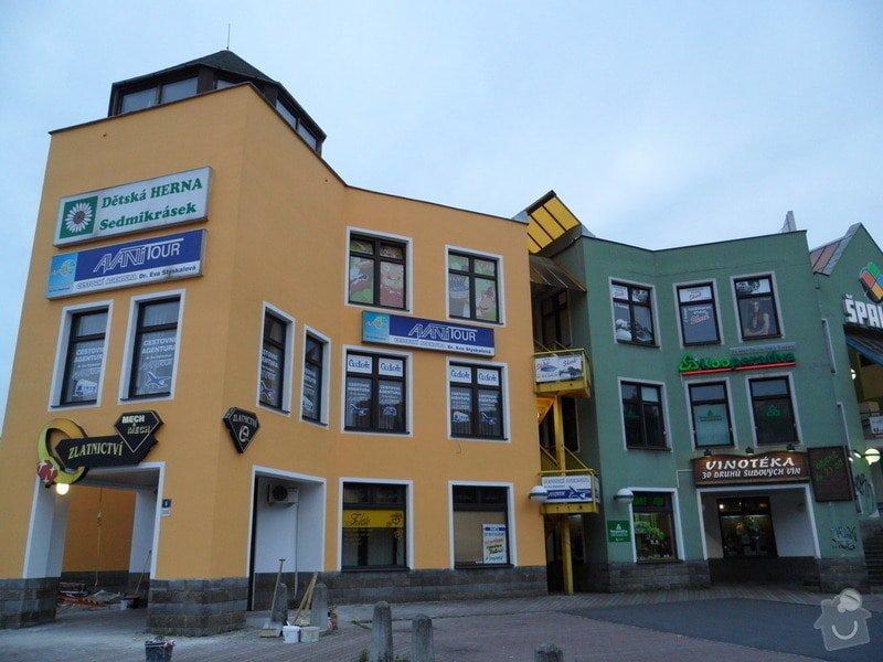 Rekonstrukce fasády OC Špalíček - Hrabůvka: SAM_2828
