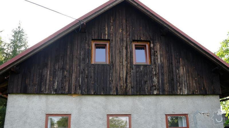 Výměna dřevěných štítů a zateplení na chalupě: _SAM8272