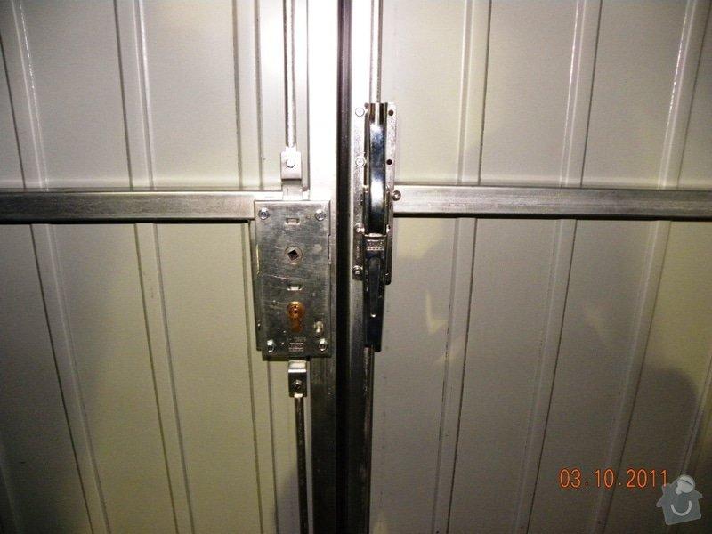Garážová vrata v rámu: DSCN2951