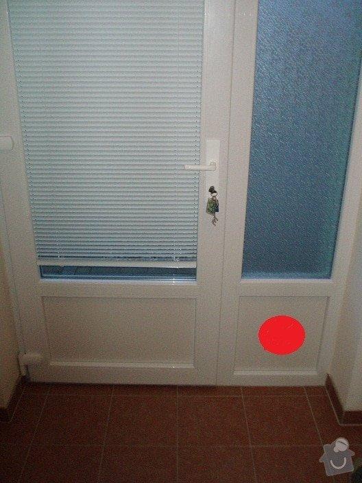 Oprava plastových dveří: dvere