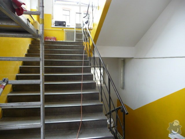 Zábradlí na schodiště: Schodiste_001