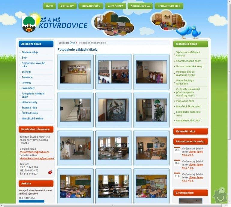 Tvorba www stránek pro školu ZŠ Kotvrdovice: 005-zs-a-ms-kotvrdovice-fotogalerie-zakladni-skoly