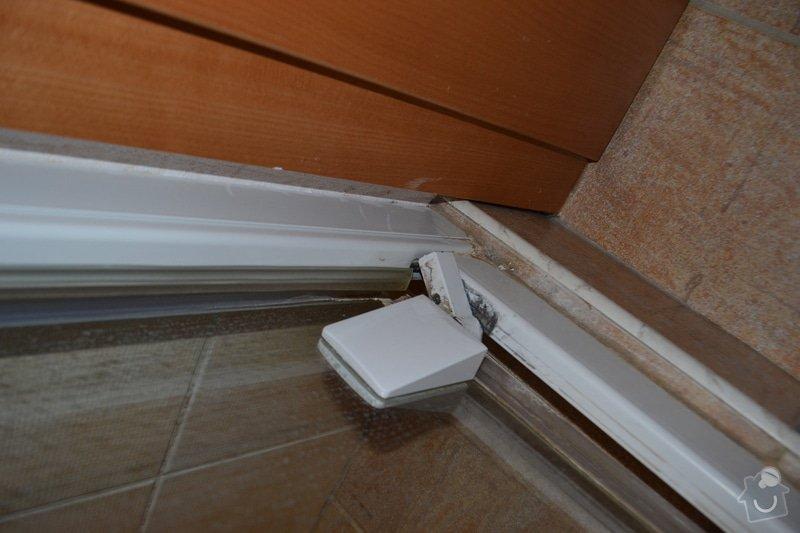 Oprava dveří sprchového koutu Roltechnik: DSC_0671