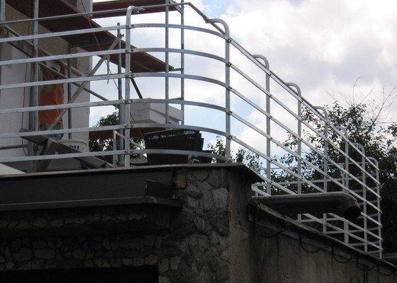 Zábradlí - jekl, včetně instalace