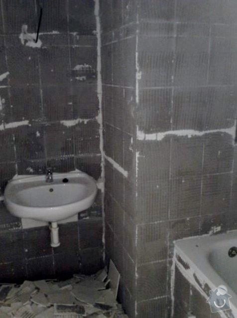 Rekonstrukce bytu - Ke Strašnické, Strašnice: P070612_14.50
