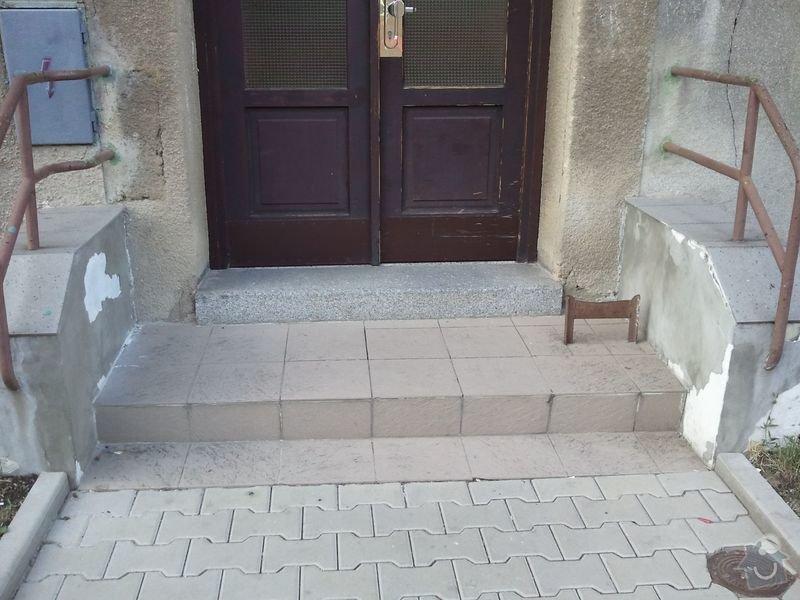 Oprava venkovních schodů: Schody1