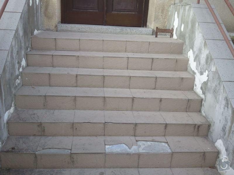Oprava venkovních schodů: Schody3