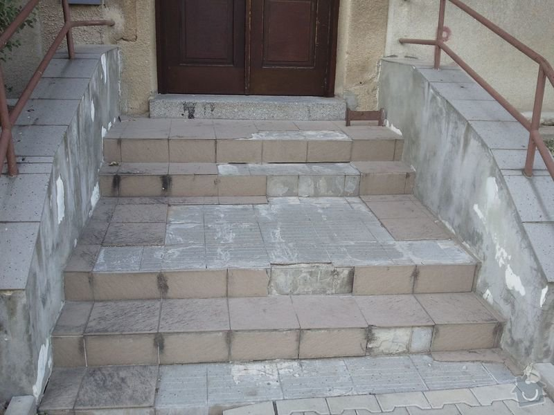 Oprava venkovních schodů: Schody4