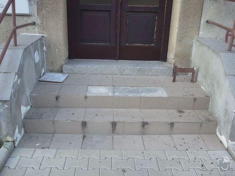 Oprava venkovních schodů: Schody5