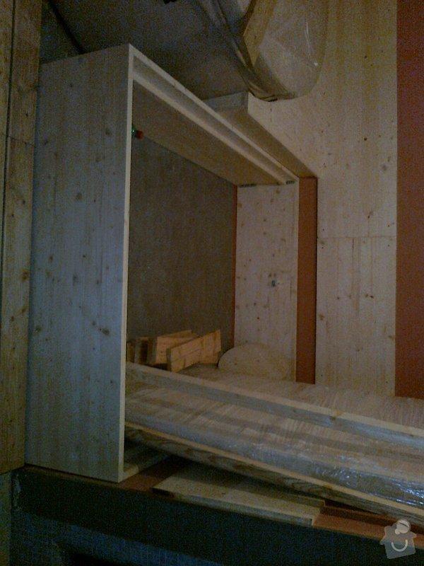 Obložení výřivky+výroba postele,obložení stěn,zalištování dveří: Fotografie0028