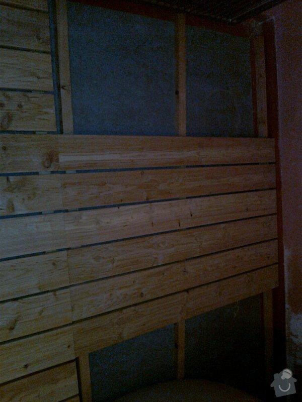 Obložení výřivky+výroba postele,obložení stěn,zalištování dveří: Fotografie0033