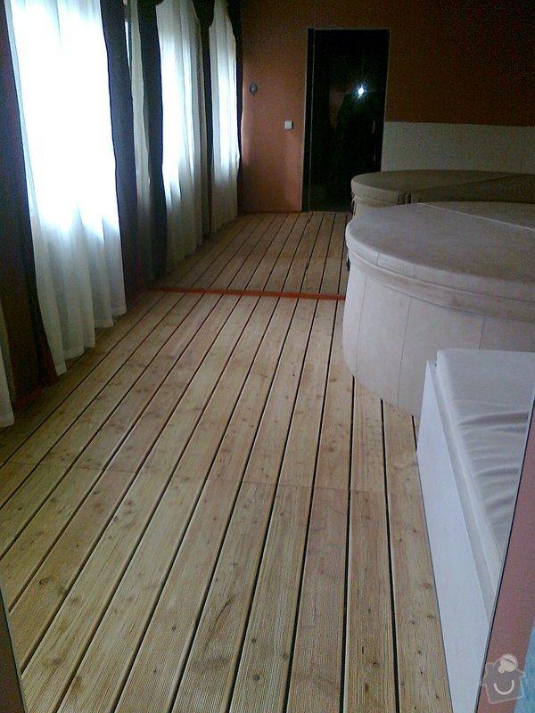 Obložení výřivky+výroba postele,obložení stěn,zalištování dveří: Fotografie0039
