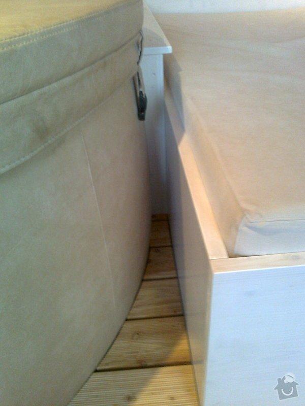 Obložení výřivky+výroba postele,obložení stěn,zalištování dveří: Fotografie0043
