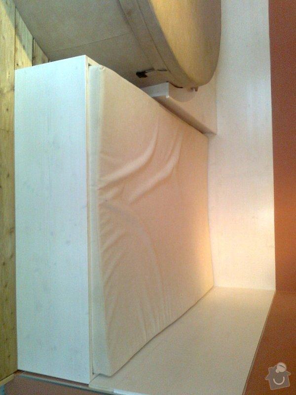 Obložení výřivky+výroba postele,obložení stěn,zalištování dveří: Fotografie0046