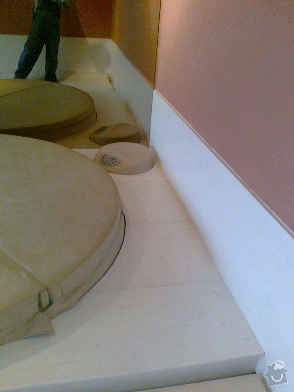 Obložení výřivky+výroba postele,obložení stěn,zalištování dveří: Fotografie0049