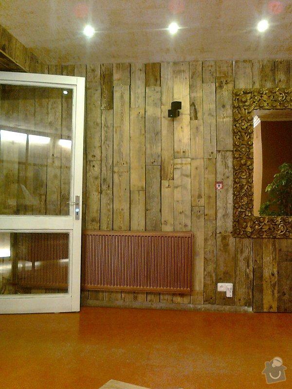 Obložení výřivky+výroba postele,obložení stěn,zalištování dveří: Fotografie0073