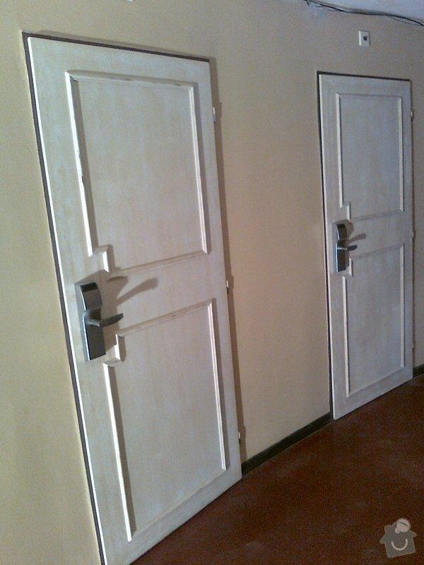 Obložení výřivky+výroba postele,obložení stěn,zalištování dveří: Fotografie0063