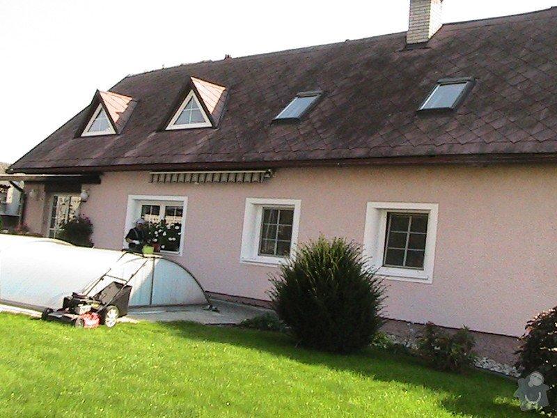 Zhotovení podbytí u nové střechy: BARAK1