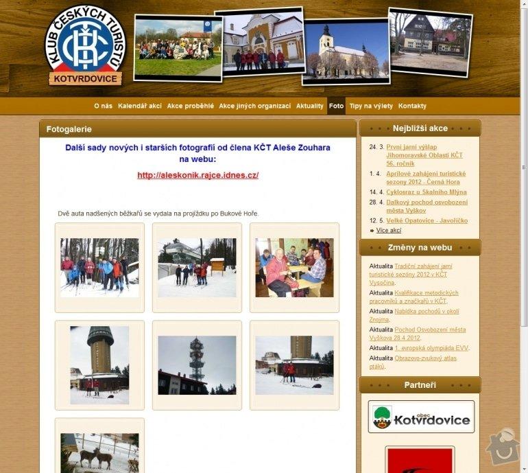 Tvorba stránek pro Klub českých turistů Kotvrdovice: 026-klub-ceskych-turistu-kotvrdovice-fotogalerie