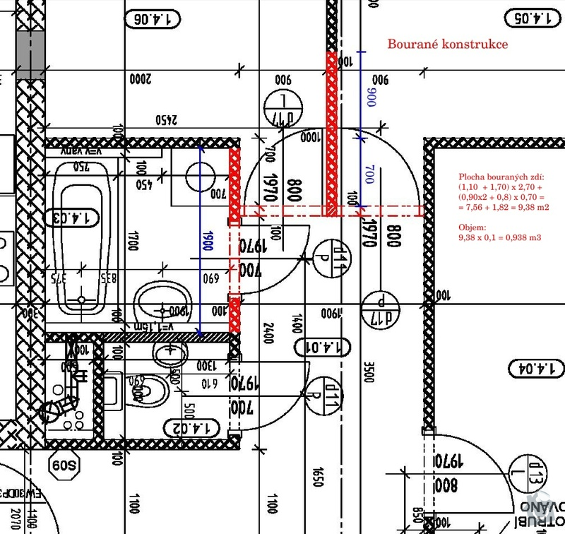 Přestavba koupelny + WC a související stavební úpravy: bourane_kounstrukce