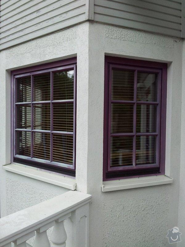 Nátěr eurooken: okna